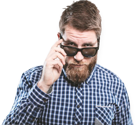 نظارة ريبان لون بنى